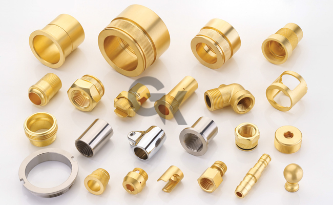 Brass CNC Turned Parts & Components