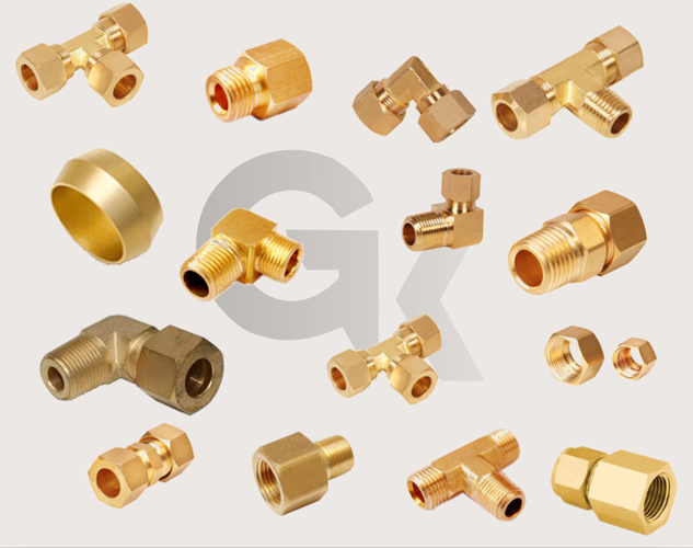 Compression Pneumatic Fittings